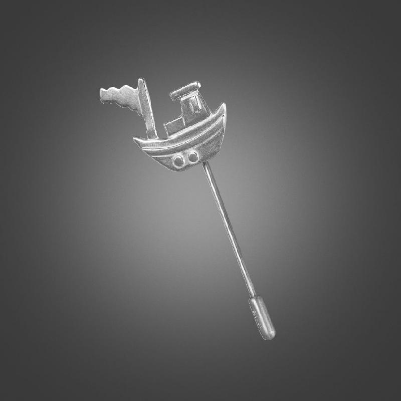Flag Boat Stick Pin
